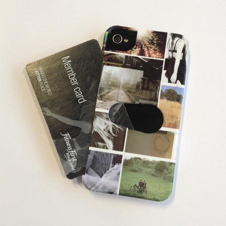 handbag hero - photobox #HandbagHero PhotoBox Personalised iPhone Card Insert Case - handbag.com