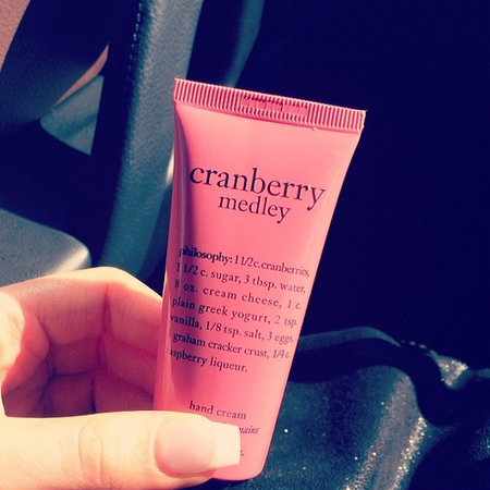Helen Flanagan's Philosophy hand cream
