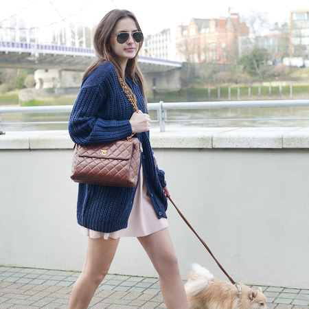 Lucy Watson's quilted Chanel