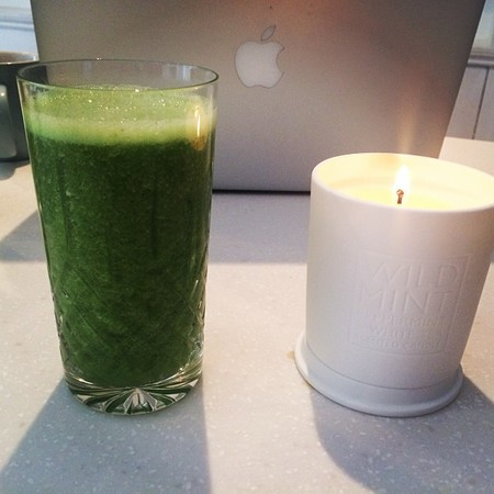 Millie Mackintosh's green juice smoothie