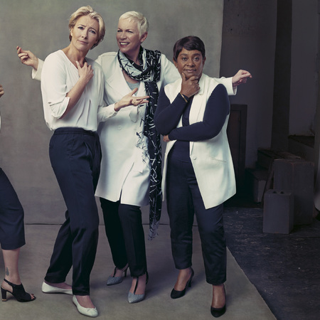 rita ora - emma thompson - annie lennox - alek wek - marks and spencer models - marks and spencer ss14 campaign - handbag.com