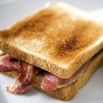 The ultimate bacon sandwich at risk?