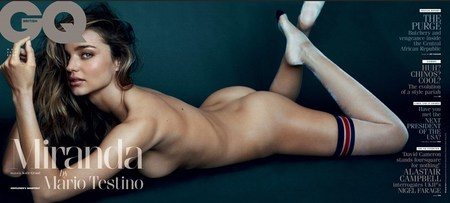 Miranda Kerr naked for GQ magazine - naked celebrity pictures - Miranda Kerr body - Marion Testino - cover - celeb news - handbag.com