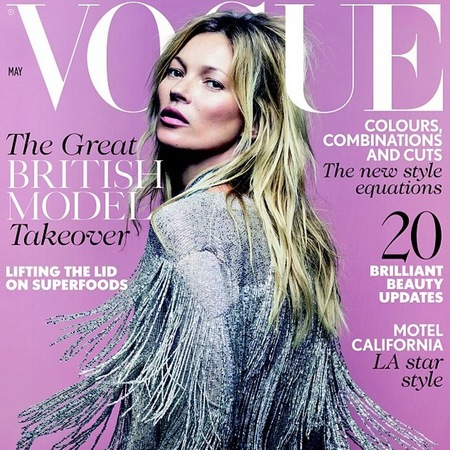 Kate Moss unveils new collection for Topshop on Vogue Cover - Kate Moss Vogue cover photos - Kate Moss style - celebrity fashion lines - shopping news - handbag.com