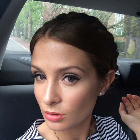 Millie Mackintosh's plait updo