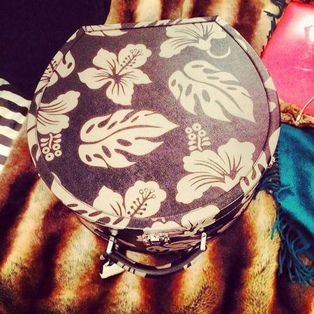 Floral Prada bag