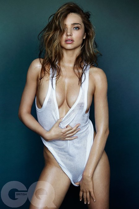 Miranda Kerr naked for GQ magazine - naked celebrity pictures - Miranda Kerr body - Marion Testino - string vest - celeb news - handbag.com