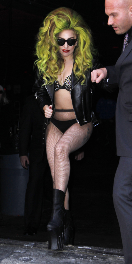Lady Gaga crazy outfits
