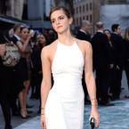 Emma Watson thinks 90s chic is all white