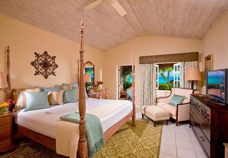 St Lucia Sandals Resort - Holiday ideas - Sunshine holidays - travel review - bedroom - handbag.com