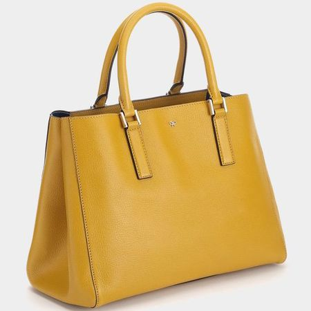 anya hindmarch handbag - yellow ebury featherweight bag - british designers - new designer bags - handbag.com