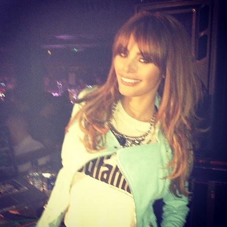 Chloe Sims - green jacket - instagram - teeth - new teeth - handbag.com