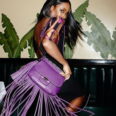 gucci fringe bag - new designer bag - festival handbag - boho festival trends - dj kiss style - handbag.com