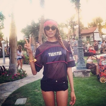 Jordan Dunn at Coachella 2014