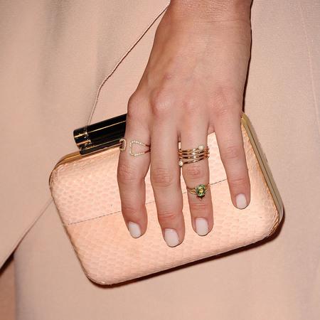 julianne hough - matching nails and handbag - shopping bag - handbag