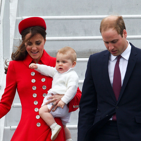 Prince George does all white trend