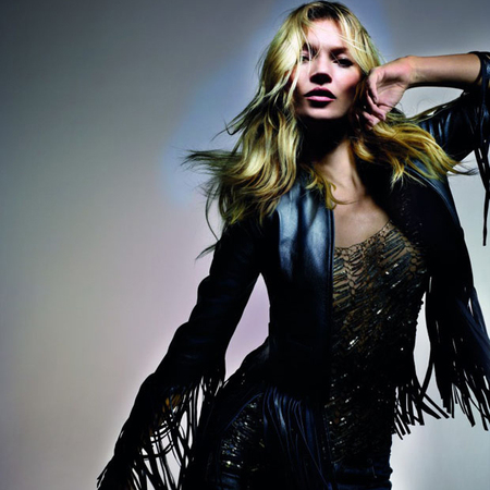 kate moss for topshop - spring summer 2014 - celebrity clothing collection - pretty white dress - fringed leather jacket - handbag.com
