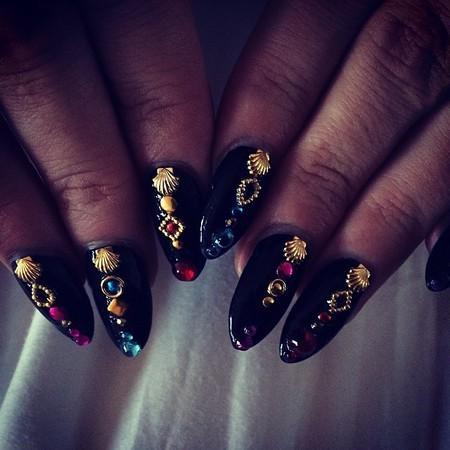 Lily Allen's Best Nail Art
