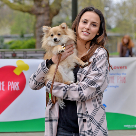 match bark in the park - lucy watson with digby - dating guide - handbag.com