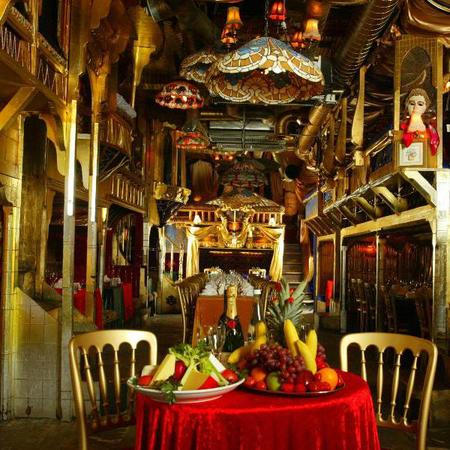 Sarastro restaurant - quirky restaurant - travel bag - handbag.com