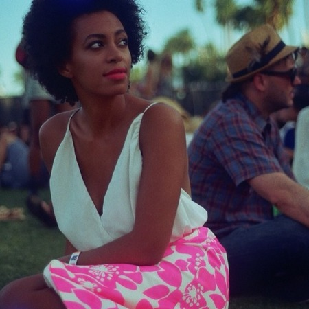 Solange Knowles at Coachella 2014