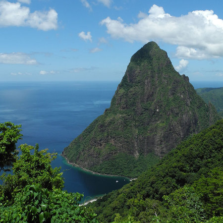 St Lucia Sandals Resort - Holiday ideas - Sunshine holidays - travel review - mountain - handbag.com