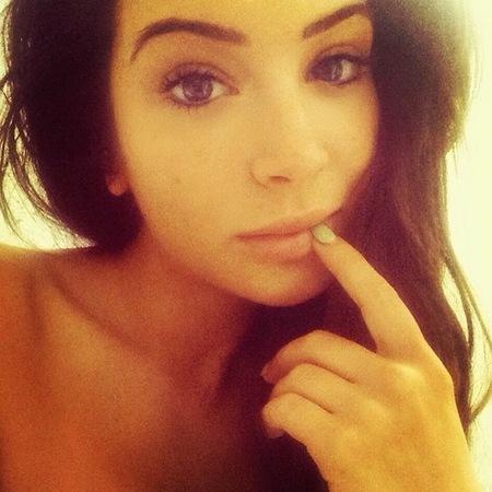 tulisa no makeup selfie - instagram picture - has tulisa had plastic surgery - celebrity face lift - handbag.com
