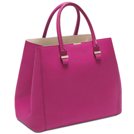 tote bag pink handbag british designer designer handbag for
