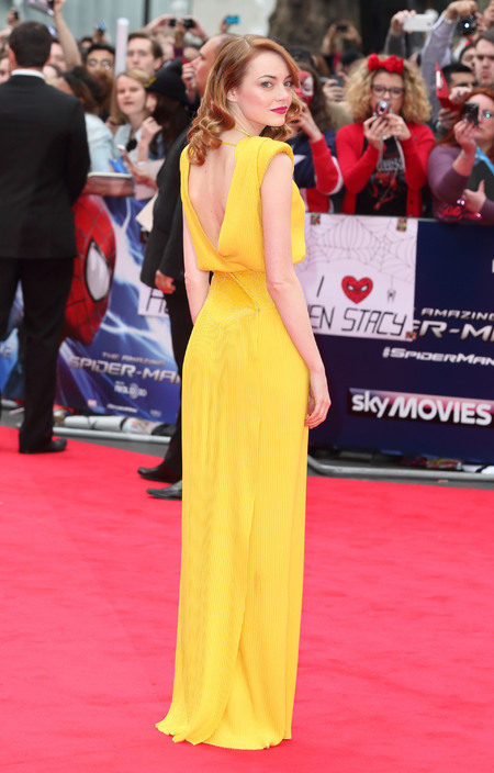 CELEBRITY TREND: Yellow dresses