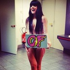 Lily Allen does the topless 'Drake spanx dance'