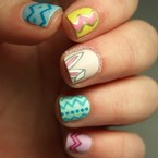 Get your Easter nail art on