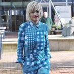 Is Rita Ora wearing gingham pyjamas?