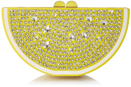 Fruit handbag feature -kate spade lemon bag- shopping bag - handbag
