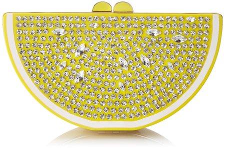 Fruit handbag feature -kate spade lemon bag- shopping bag - handbag