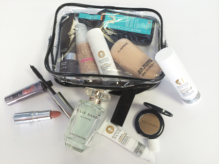 caroline flack - makeup - celebrity beauty secrets - skincare - whats in my makeup bag - handbag.com