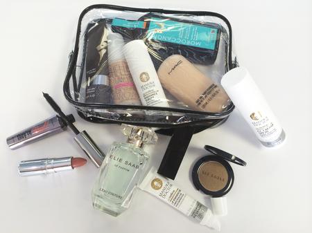 caroline flack - makeup - celebrity beauty secrets - skincare - whats in my makeup bag - handbag.com