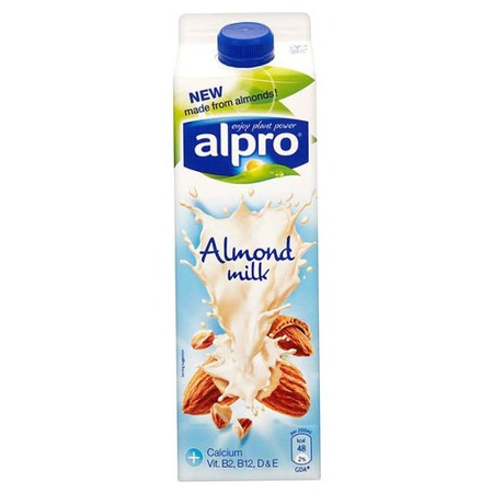 Alpro almond milk - protein drinks that taste nice - natural alternative - handbag.com