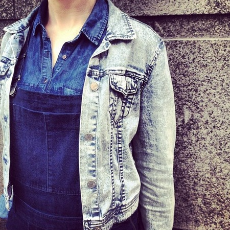 Triple denim