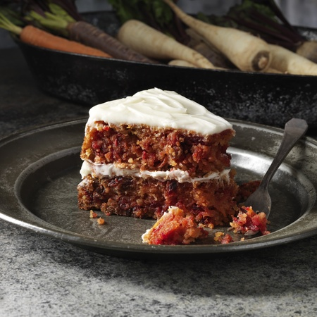 Lily Vanilli's Gluten Free Carrot and Root Veg Cake recipe - day bag - handbag.com