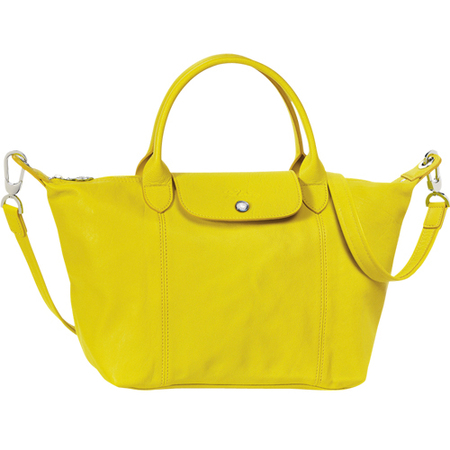 longchamp le pliage bag - yellow - weekend away bag - how to travel and pack light - holiday bag - handbag.com