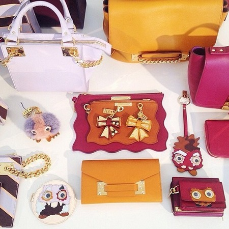 Sophie Hulme AW14 collections preview - designer handbag collection - shopping bag - handbag.com