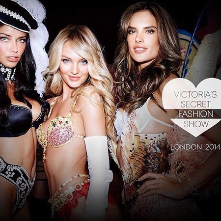Victoria's secret fashions how - london 2014 - happy - body confidence - hot - handbag.com