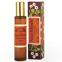 aqua manda vintage perfume - handbag fragrance - travel size - essential oils - mood boosting fragrance - handbag.com