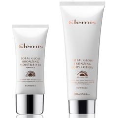 elemis total glow - bronzing moisturiser - gradual tan - face - body - new fake tan products - handbag.com