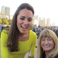 kate middleton selfie - if kate had instagram - Nina Kiwarkis - australia tour - handbag.com