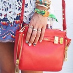 Festival nail art at Coachella 2014