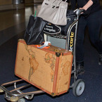 Mischa Barton has the best suitcase ever