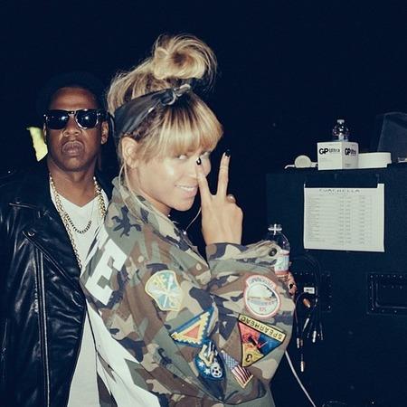 Beyonce at Coachella Festival
