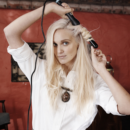 how to create tousled hair waves - toni guy-sea salt spray - step 4 - handbag.com
