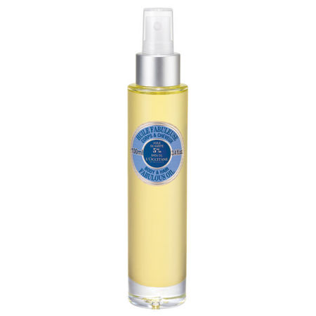 L'occitane fabulous oil  - festival beauty essentials - beauty bag - handbag